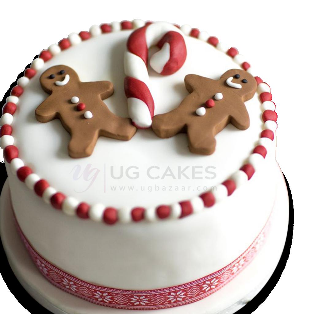 Superb Ginger Bread Man Christmas Cake Funny Birthday Cards Online Hetedamsfinfo