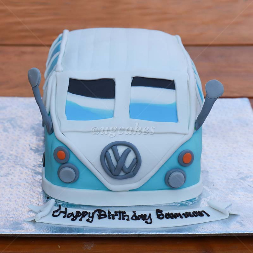 Volkswagen Jeep Themed Cake