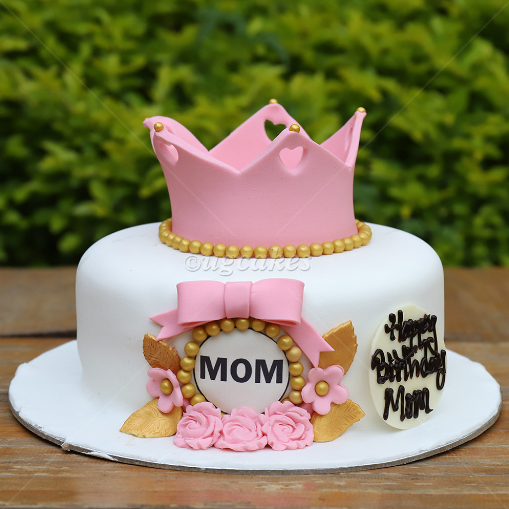 Magnificent Birthday Cake For Your Beautiful Mom Funny Birthday Cards Online Elaedamsfinfo