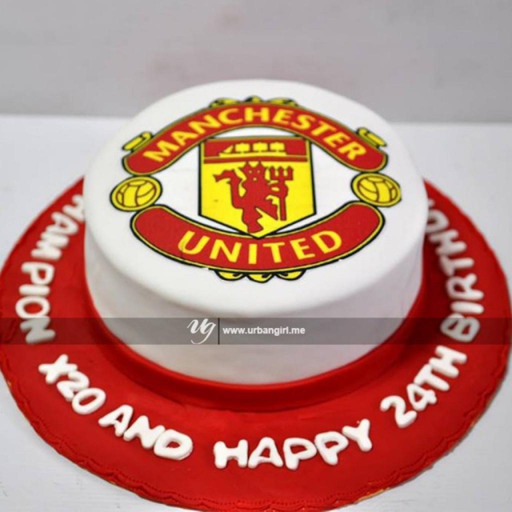 manchester united design cake manchester united design cake