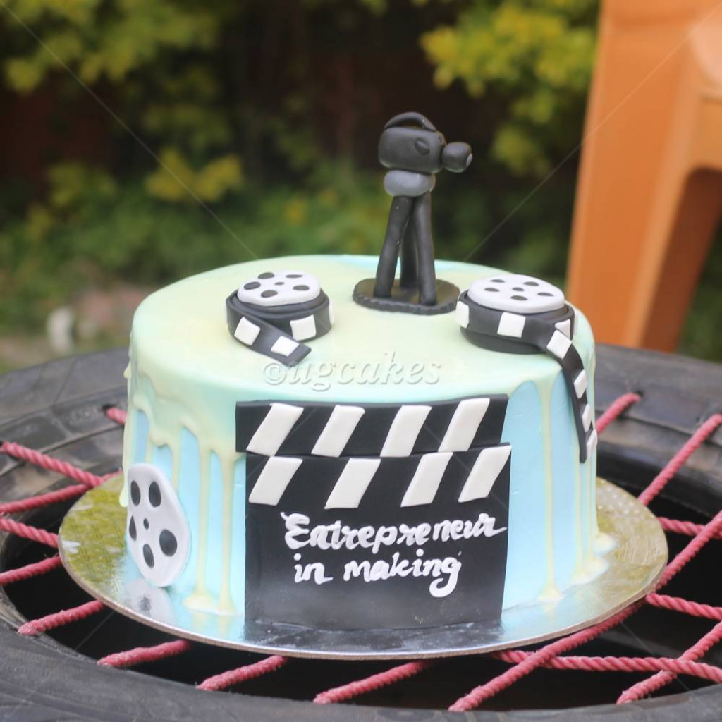 Film Making Theme Based Cake