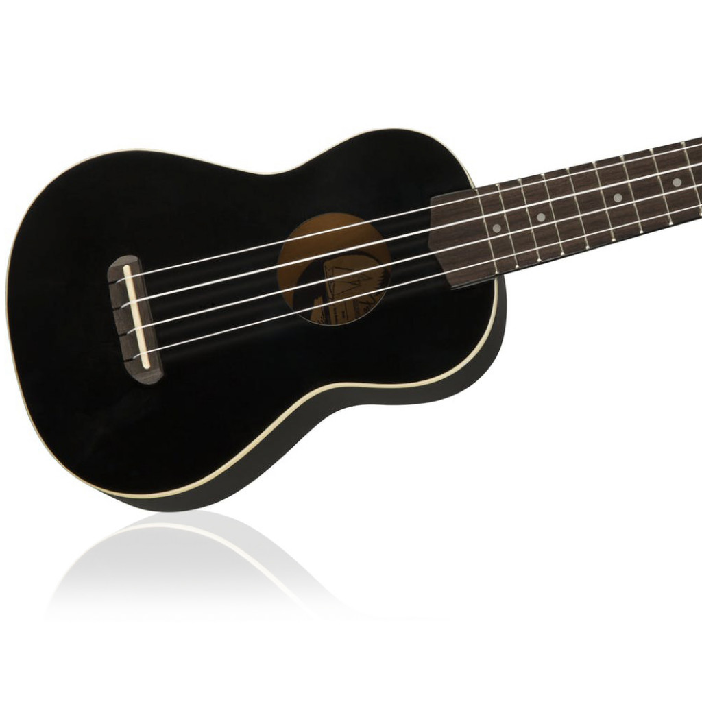 Black Walnut Fingerboard FENDER Venice Soprano Uke