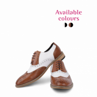 This party shoe come in varieties of color as mentioned in the picture.  Black with White and Brown and White is one popular shoe available at UG bazaat. Place your order now. Free home deliver*