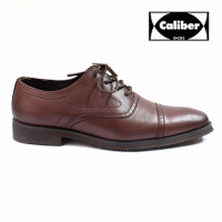 Styled to complement your sharp and polished look is this pair of boots from Caliber Shoes. These boots are designed with structured pattern and stitch line on the upper which lends a classy appeal to them. These lifestyle boots can be best teamed with a shirt and black trousers. KEY FEATURES 100% Genuine Product Material: Leather Tip Shape: Round Lace type: Slip Ons Padded Ankle Collar Sole: Rubber Sole Cushioned Insole Wash care: Surface dirt can be cleaned with a good quality brush or a damp cloth.  Size available: 38, 39, 40, 41,42 Color: Light Brown