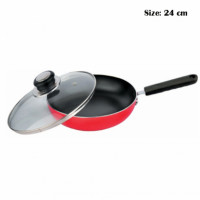 Induction Base, Non-Stick Coated, Sturdy Gripper, Heat Proof Lid